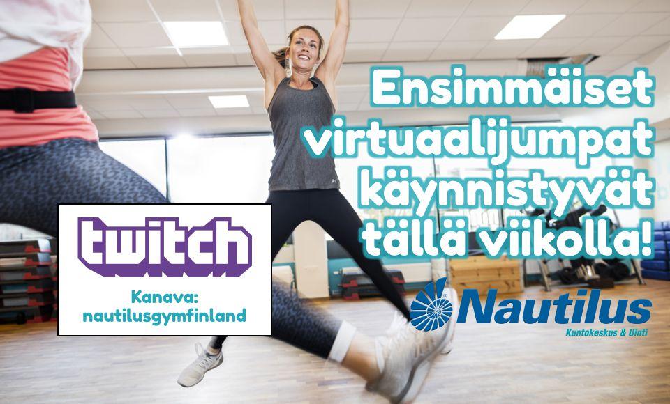 Ensimmäiset virtuaalijumpat käynnistyvät tällä viikolla!